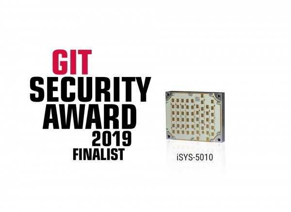 iSYS-5010 nominated for GIT SECURITY AWARD