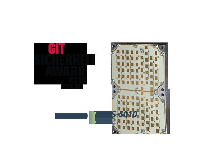 Das Radarsystem iSYS-5010 ist Finalist beim GIT Sicherheit Award 2019
