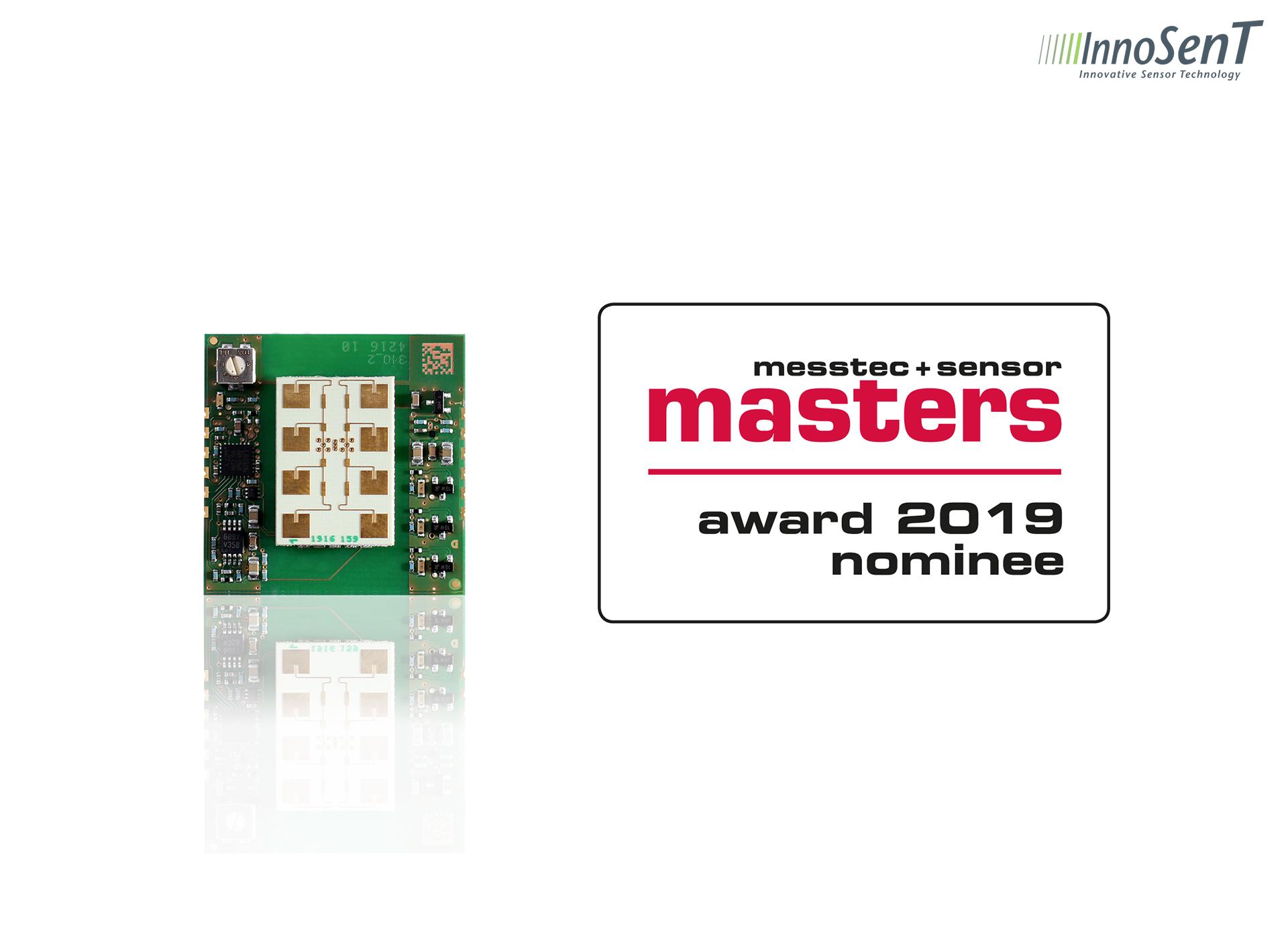 Jetzt Abstimmen: INS für messtec + sensor masters Award 2019 nominiert
