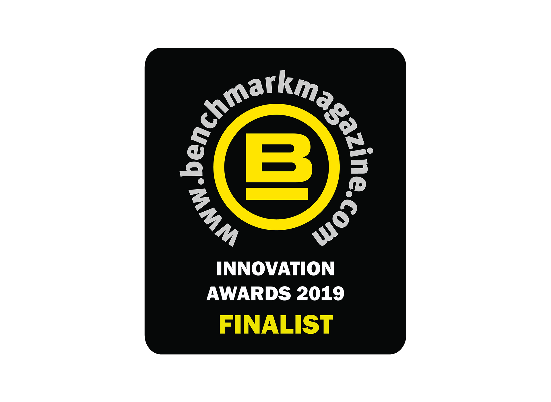 Finalist for the Benchmark Innovation Award 2019