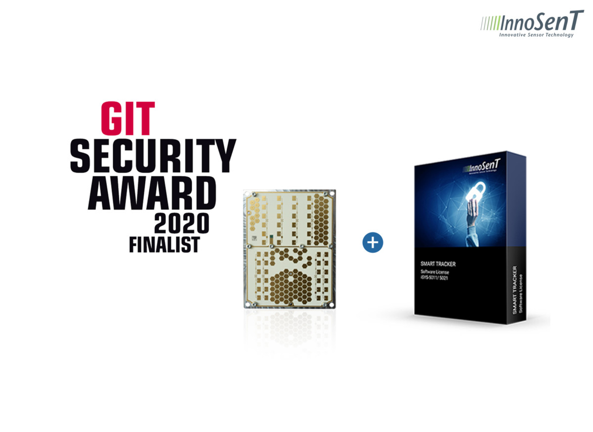 The Radar System iSYS-5021 is Finalist at the GIT SECURITY AWARD 2020