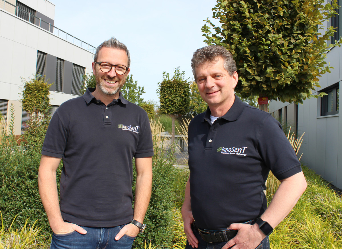 Christian Boemmel and Wilhelm Wenzel (f. l. t. r.) from InnoSenT.