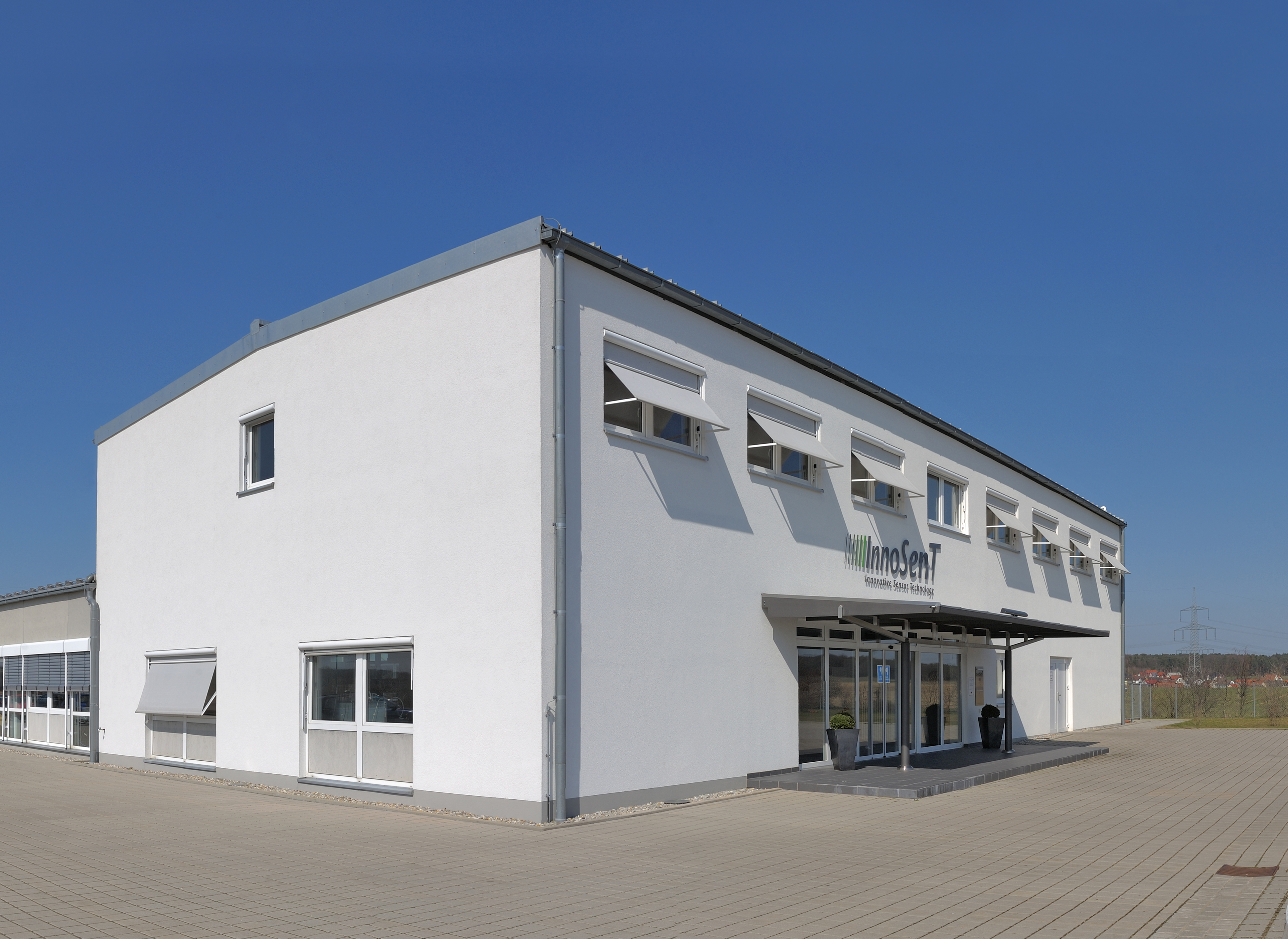 InnoSenT Hauptgebäude in Donnersdorf