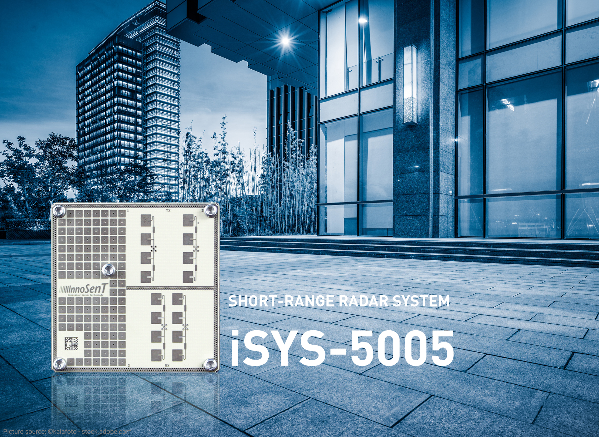 Three questions about the new iSYS-5005 short-range radar